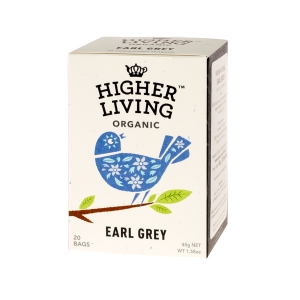 Higher Living Earl Grey - herbata - 20 saszetek