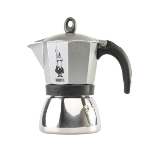 Bialetti Moka Induction 6tz Antracyt