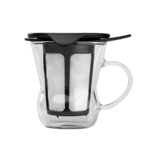 Hario - One Cup Tea Maker - Czarny 200 ml