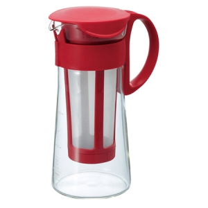 Hario - Mizudashi Coffee Pot Mini - Czerwony 700 ml