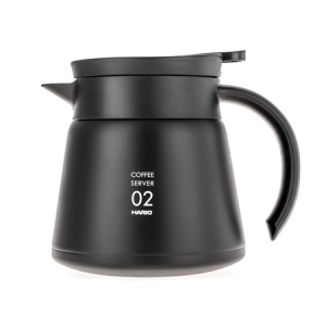 Hario Insulated Stainless Steel Server V60-02 Czarny - 600ml